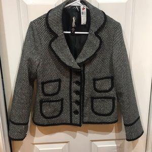Black/Cream Flex Jacket